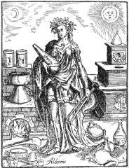 Allégorie de l'alchimie