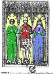 Tomb de Guillaume Tirel & de ses deux femmes