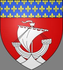 Fluctuat nec mergitur - Blason de la ville de Paris