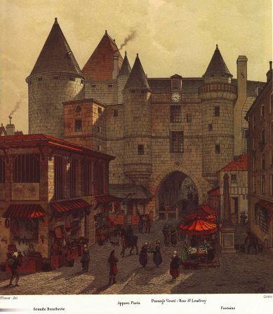 La grande boucherie du Châtelet (place de l'Apport)