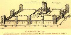 le château de Vincennes en 1380